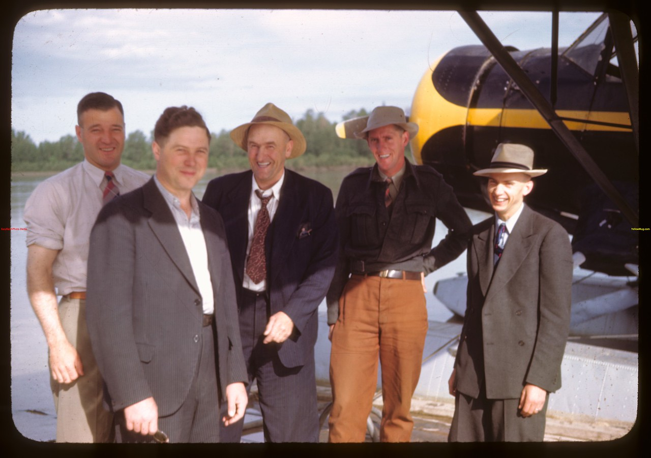Part of Sask. Fish Board staff..  Prince Albert.  06/21/1946