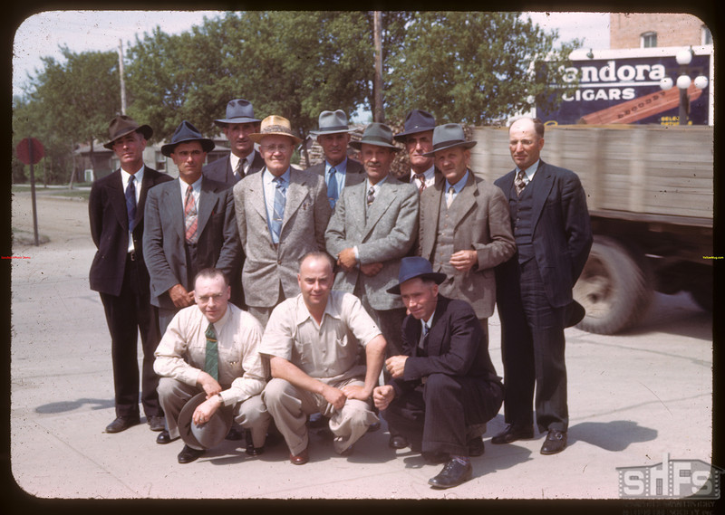 Forage crop seed growers co-op - Executive and Board - Dennis Downing - President; T.G. Hollis - Secretary/Treasurer..  Prince Albert.  05/30/1944