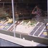 Moose Jaw co-op store fruit display - U. S. Co-op tour.Moose Jaw. 08/09/1946