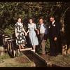 Saskatchewan Club Leaders - Montana Day.  Theo Bryce - Marie Cook - Bruce Wray & Wilbur Lewis. Eastend 06/11/1949