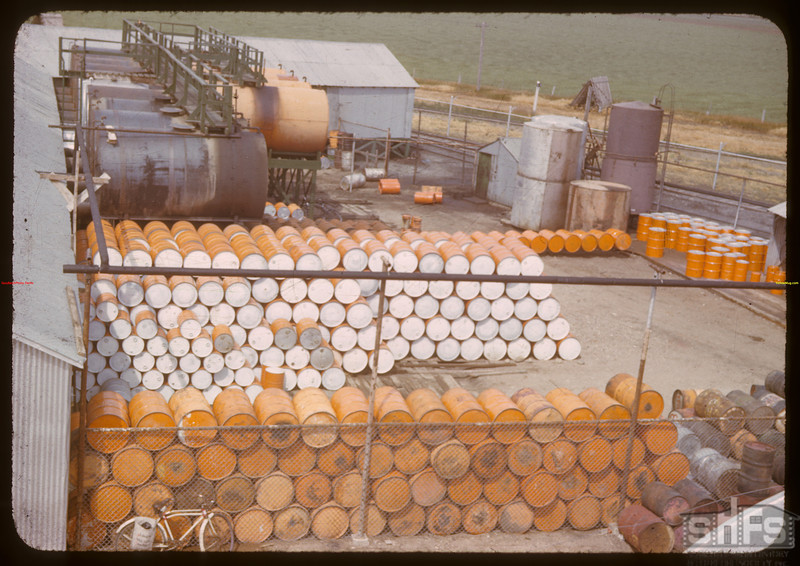 Drum yard - Co-op refineries.  Regina.  07/17/1941