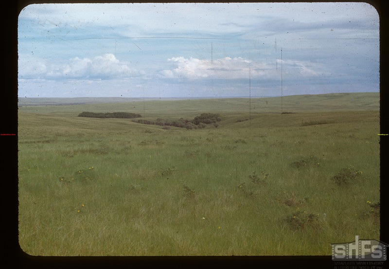 Sask. prairie - Cypress Hills - Fleming ranch.	 Maple Creek	 06/26/1948