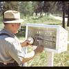 Temperature gauge.  Waskesiu.  06/18/1946