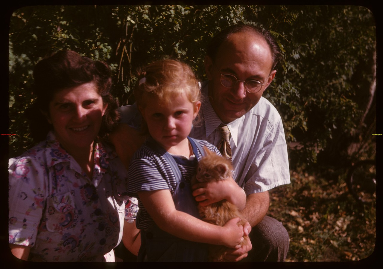 Family picture of Dr. Weil.  North Battleford.  09/25/1947