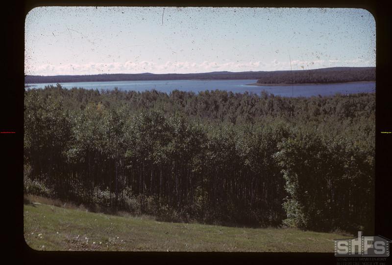 Kenosee Lake from Tower Hill Kenosee Lake 09/19/1942