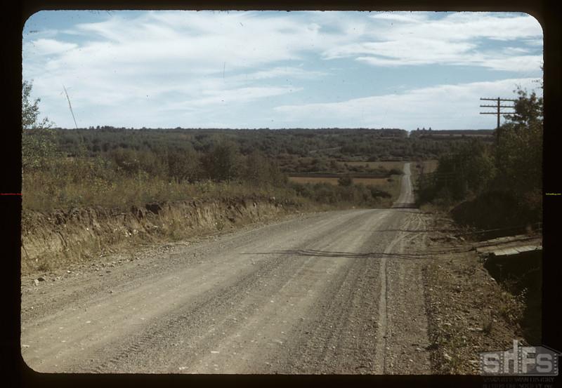 Looking south across Swan River Valley. Arran 09/15/1949