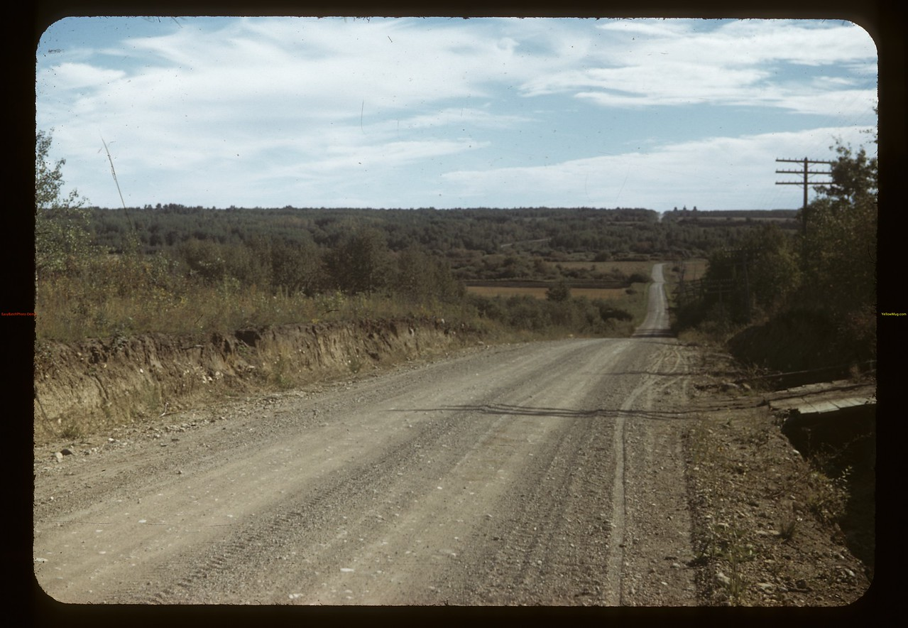 Looking south across Swan River Valley.	 Arran	 09/15/1949