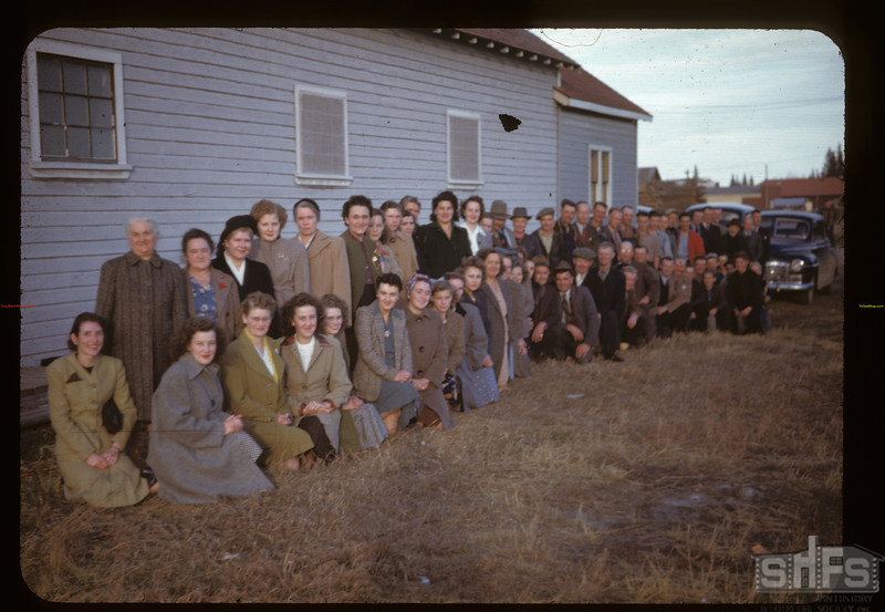Ladies at week long Co-op school.	 Archerwill	 10/28/1947