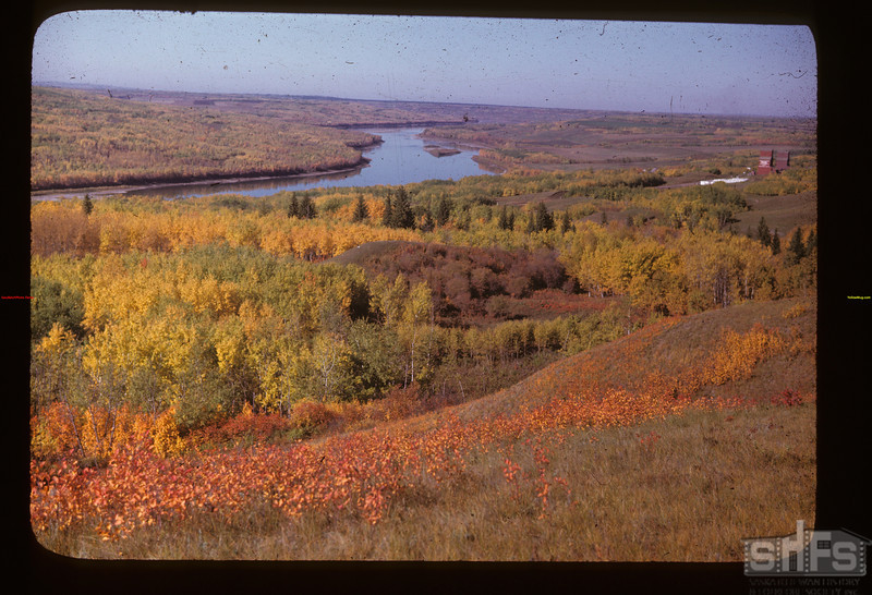 Autumn on the N. Sask from hills SE of Frenchman Butte	 Frenchman Butte	 09/27/1947