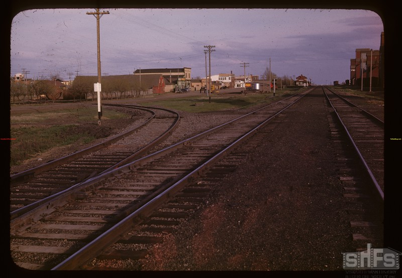 Special spur track to co-op lumber yard and store Davidson 05/17/1947