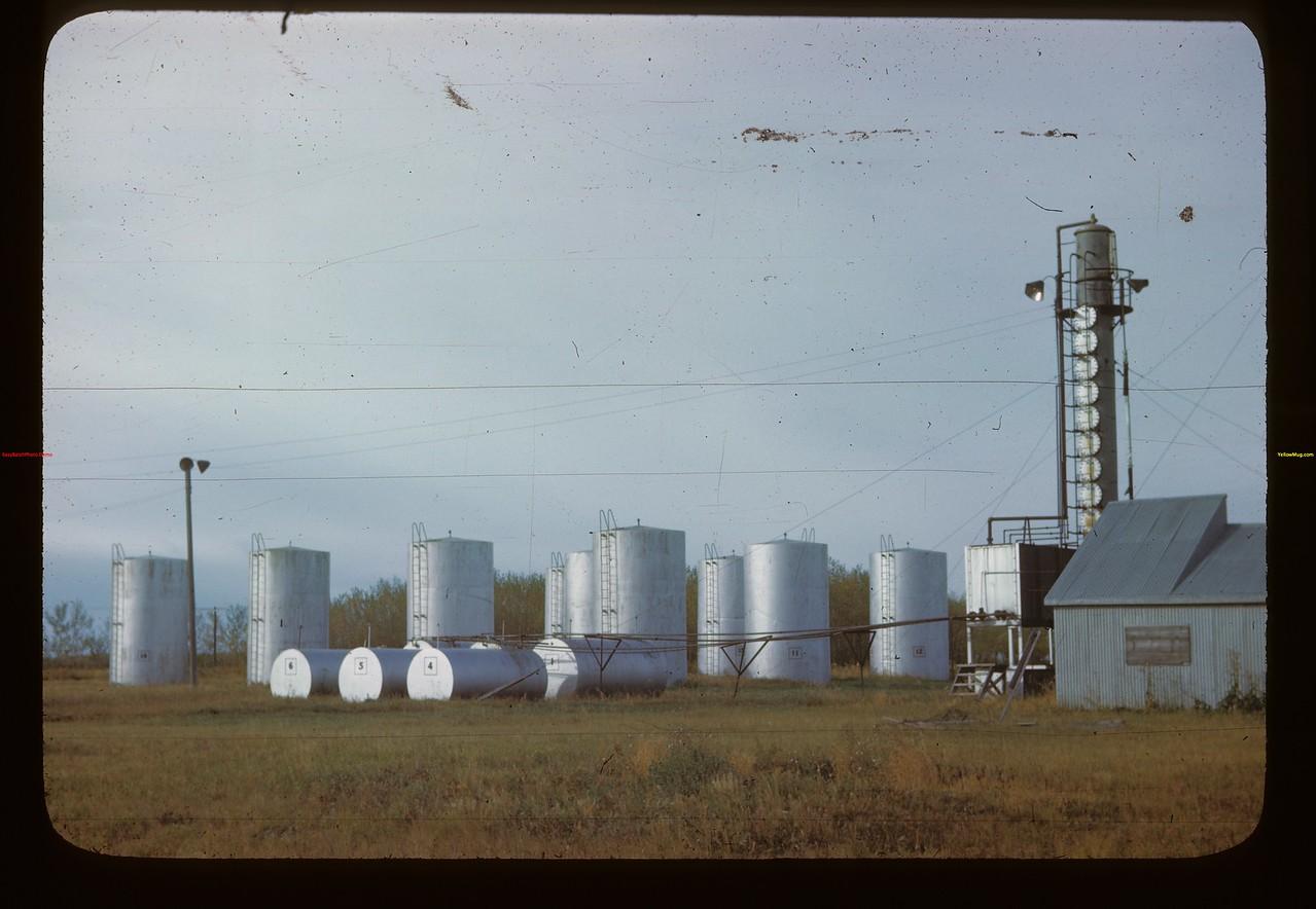 Melfort's new Co-op oil storage Melfort 09/26/1946