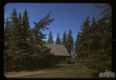 Doukhobor home. Arran. 09/15/1949