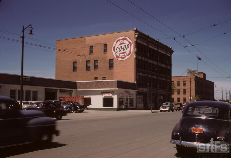 Co-op block.  Regina.  07/16/1949