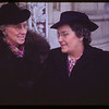 Mrs. R.G. Robinson (President) and Mrs. Henry Lawrence (Vice President) Sask. Co-op Women's Guild.  Regina.  02/07/1946