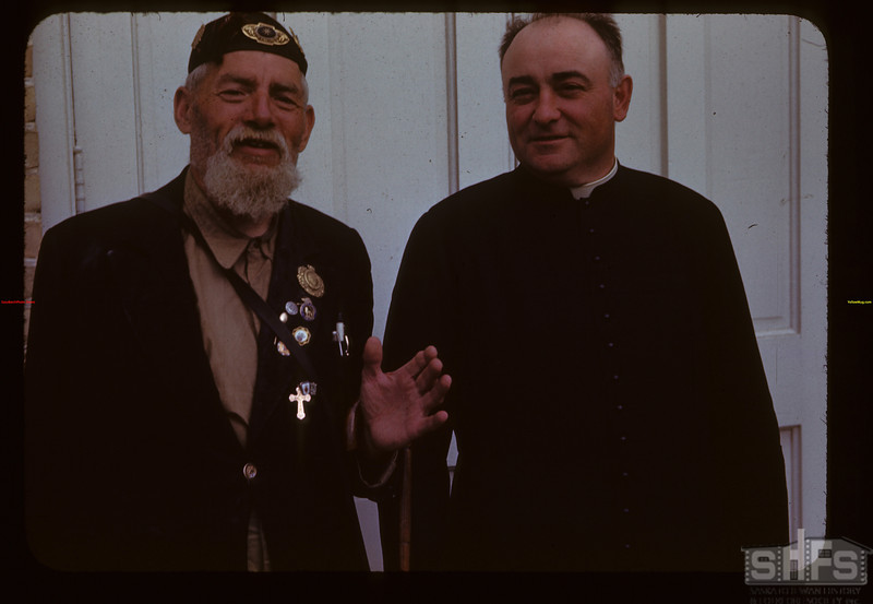 Belgian and Father Beaulac Marcelin 07/16/1944