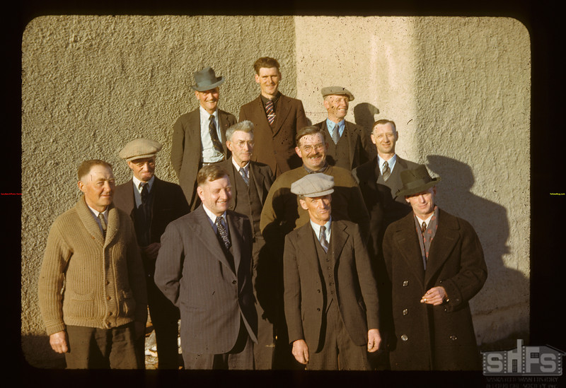 Directors & Mgr. Wilton Co-op Assn. Ltd. Annual meeting Lashburn 03/19/1942