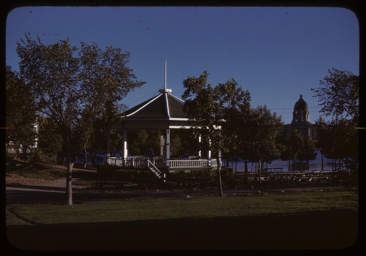 Wascana Park Band Stand. Regina 08/30/1946