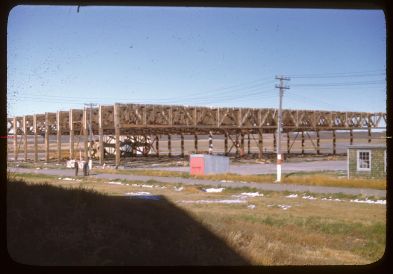 Dismantling North Battleford Airport.  North Battleford.  10/06/1946