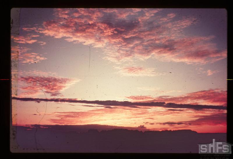 Lavender sunset Fort Pitt 09/27/1947