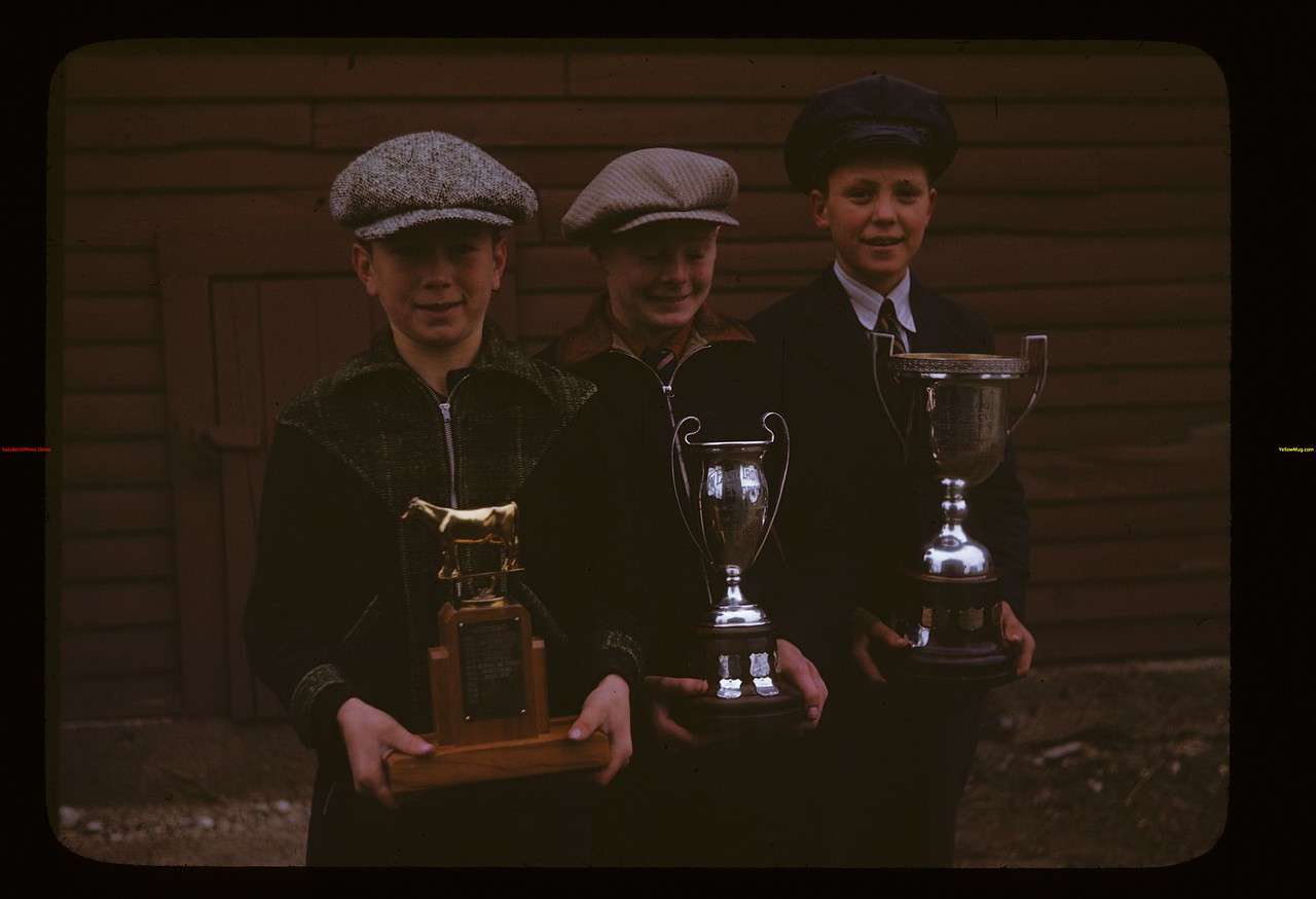 Hanley Junior Grain Club 1946 Trophies [and winners]	 Hanley	 10/05/1946