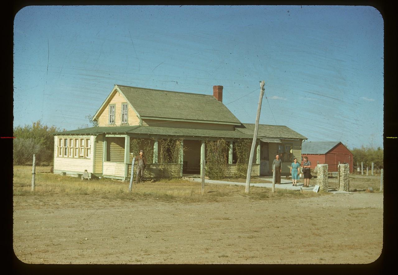 Dunc McCuaig home. Eastend 09/03/1948