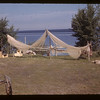 Drying nets - Island Lake - Wandler camp.  Goodsoil. 08/18/1945