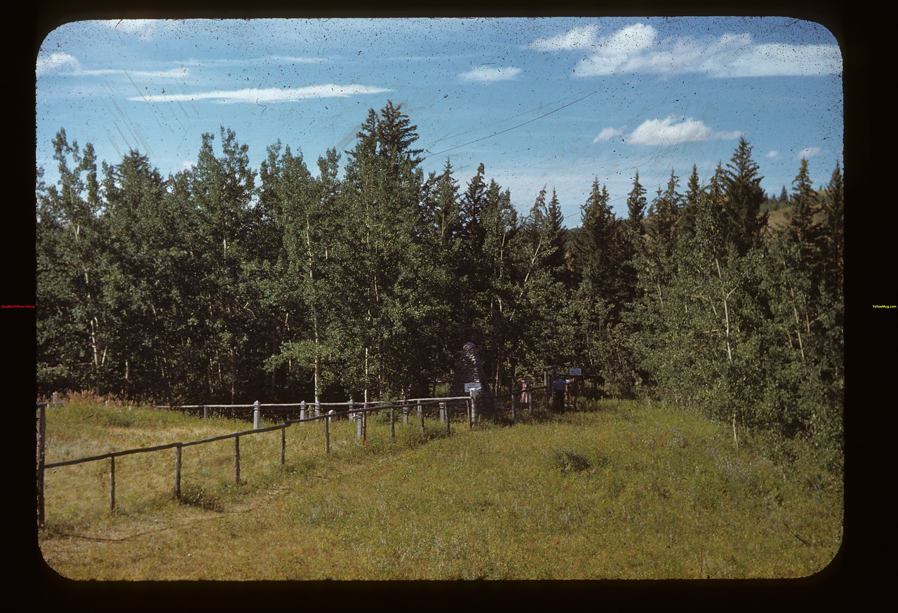 Mounted Police cemetery 200 yards east of Fort Walsh Fort Walsh 08/27/1948