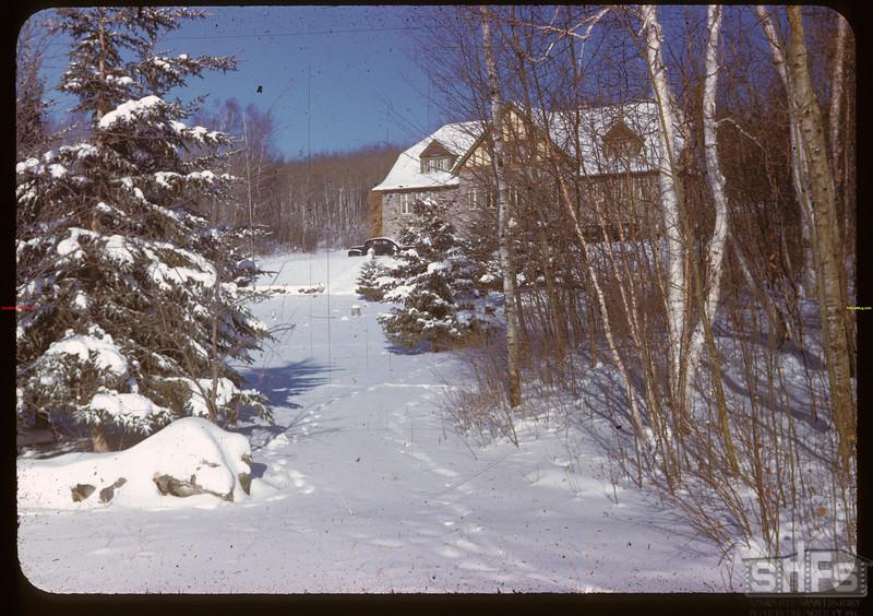 Kenosse Chalet from S.E. Y-T-S. Kenosse Lake 11/26/1946
