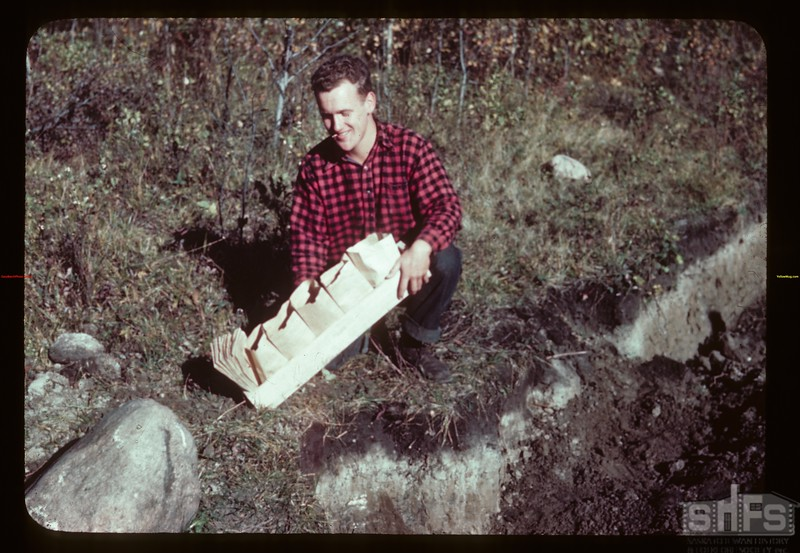 Soil sample from profile Compass PO 09/23/1944
