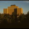 Sask. Hotel from YMCA across Victoria Park.  Regina.  07/29/1946