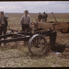 Noble blade (single blade plow) viewed during Farm Machine Field Day at McLean's.	 Shaunavon 05/24/1949