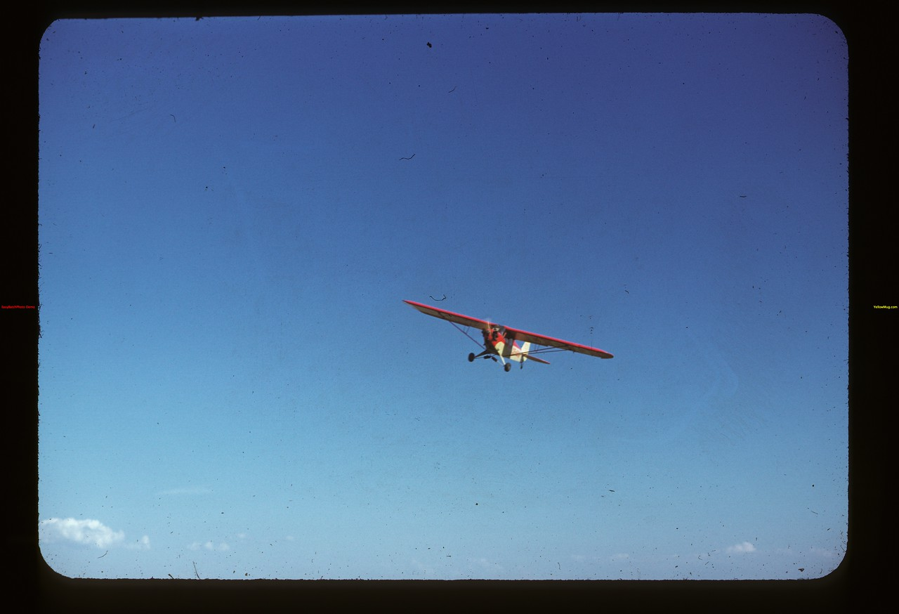 Piper Cub airplane Fishing Lake 07/13/1947