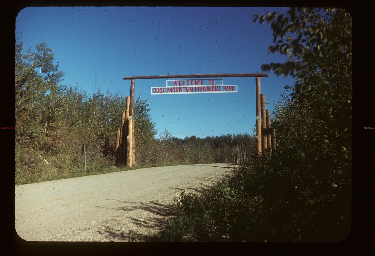Duck Mt. Prov. Park. Madge Lake A head Kamsack 09/13/1949