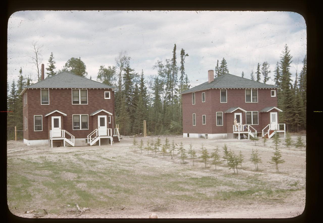 Government staff houses. Beaver Lake 06/22/1946