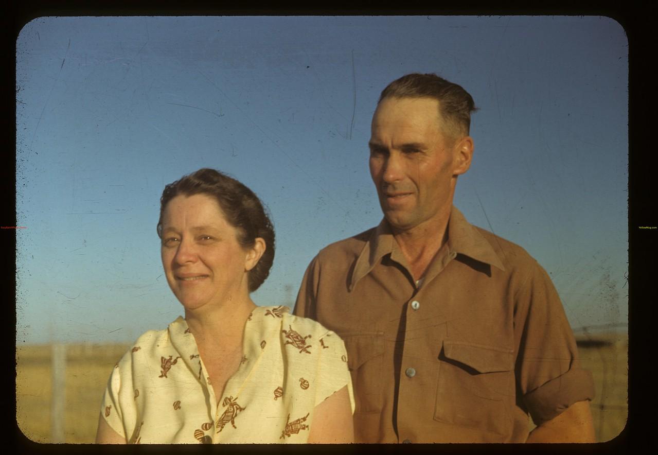 Mr. & Mrs. Jay Lloyd - Pool elevator agents Claydon 09/03/1948