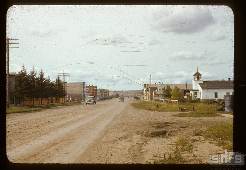 Eastend Main Street,  09/10/1941