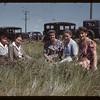 Farm girls camp leaders.  North Battleford.  08/09/1944