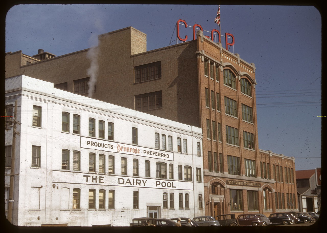 The Dairy Pool and Head Office Federated Co-ops. Saskatoon 06/03/1948