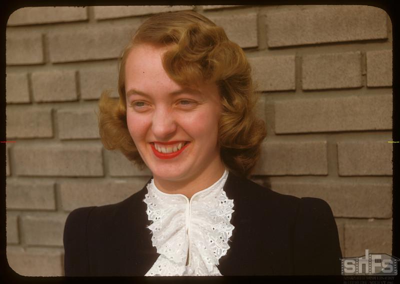 Shirley Kielsen - Contract Department of Wheat Pool.  Regina.  02/01/1948