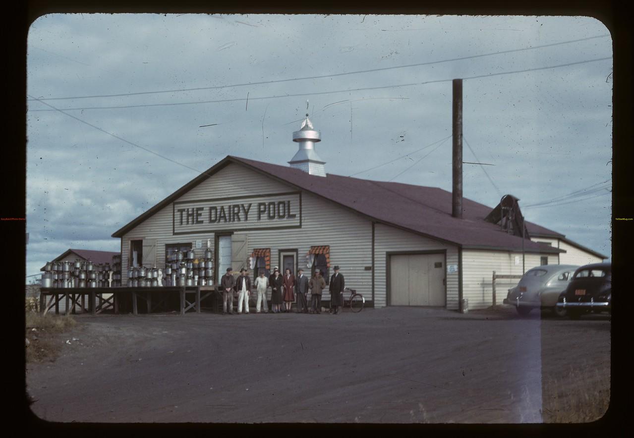 The Dairy Pool creamery Biggar 09/23/1942