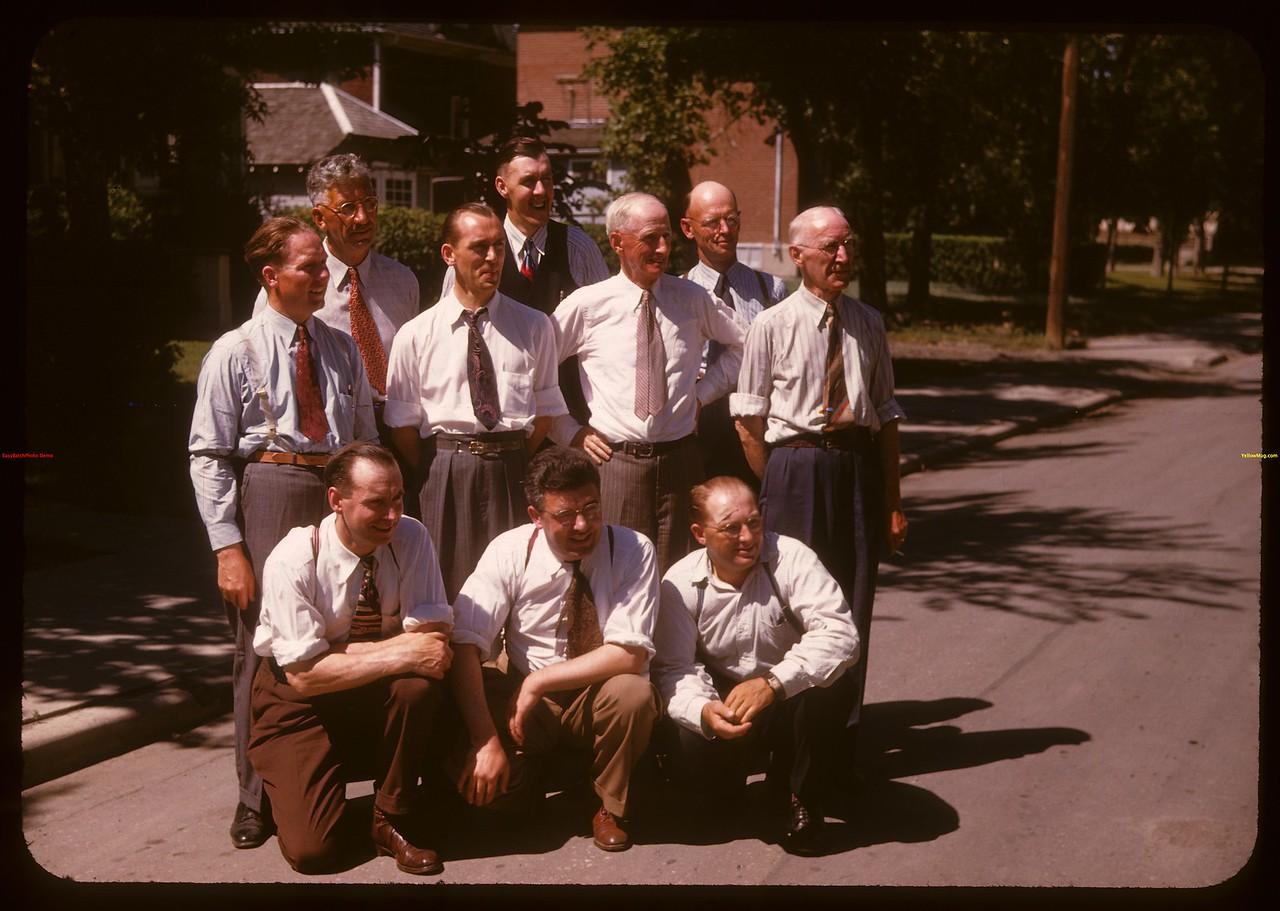 Directors Sask. Credit Union Federation.  Regina.  07/28/1947