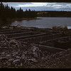 Burned chalet - Cypress Hills Park.	Maple Creek. 10/07/1947