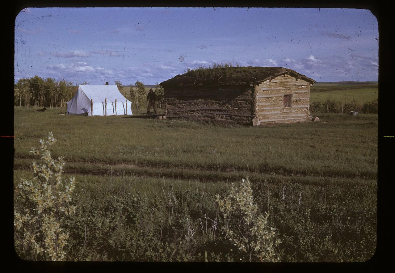 Many Thunder Child's home - Poundmaker reserve. Admiral. 06/18/1942