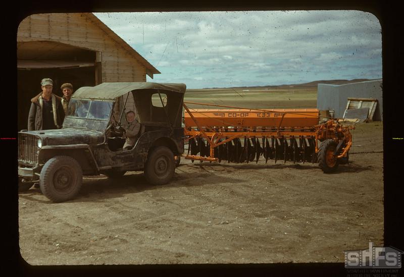 Matador Co-op Farm. Co-op Tiller Combine Matador 05/15/1948