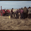 Co-op school - studying farm machinery.	 Swift Current.	 07/07/1949