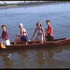 Ladies canoe fours - Regina Boat Club Regatta.  Regina.  09/02/1946