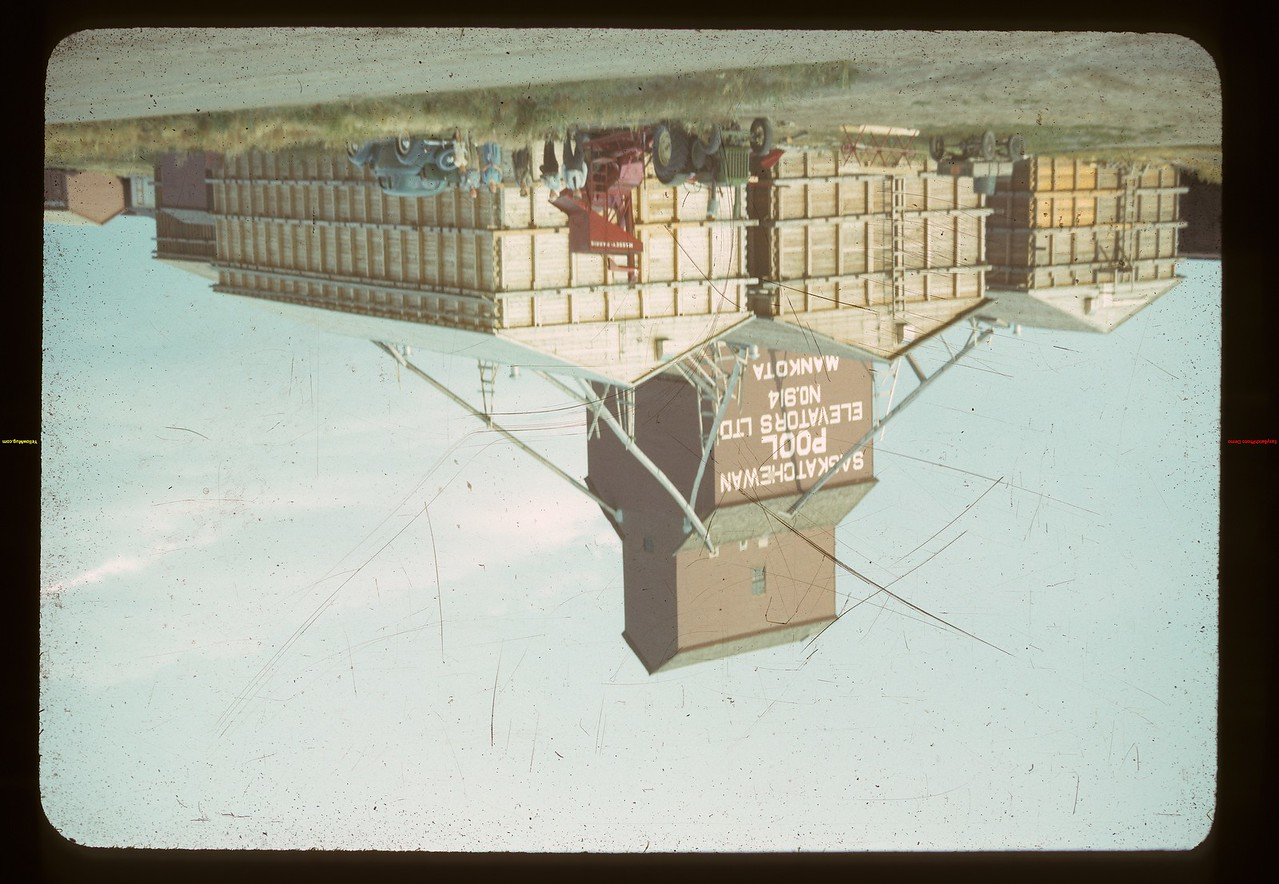 Pool elevator and annexes. Mankota 08/26/1942