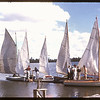 Sailing on Wascana Lake - Regina Boat Club Day. Regina. 08/16/1947.