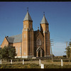 Roman Catholic Cathedral..  Ponteix.  09/10/1941