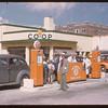 Sherwood Co-op service station.  Regina.  08/10/1946